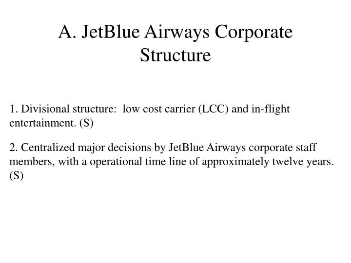 a case study of the growth of jetblue airways Jetblue airways is currently in the formalization stage of the life cycle where in it needs to create procedures and control systems to effectively manage its growth also as it proceeds to grow further to reach the elaboration stage, jetblue needs to continue to align itself with the environment in order to maintain its sustained growth.