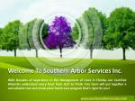 welcome to southern arbor services inc