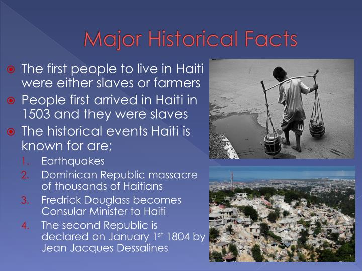 Major Historical Facts