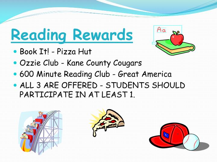 Reading Rewards
