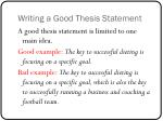 writing a good thesis statement1