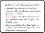 writing a good thesis statement2