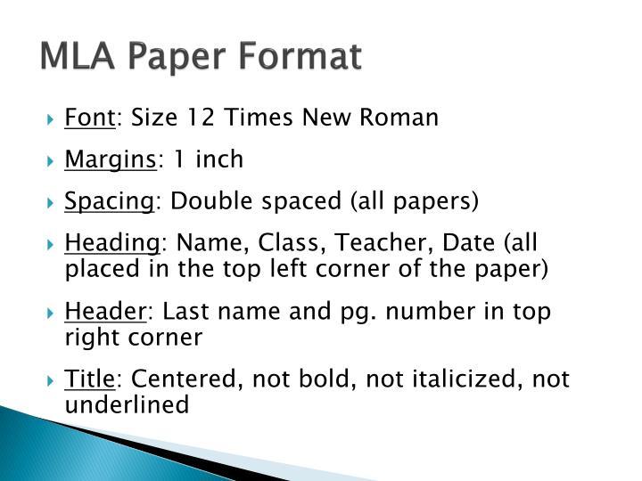 ppt mla writing style powerpoint presentation id 1849241