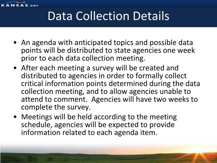 Data Collection Details