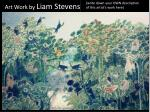 art work by liam stevens