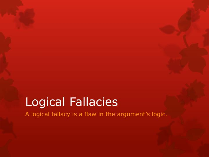 fallacious arguments in the declaration of Argument terms and fallacies 1743 – july 4, 1826) was an american founding father and the principal author of the declaration of independence (1776.