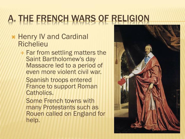 Henry IV and Cardinal Richelieu