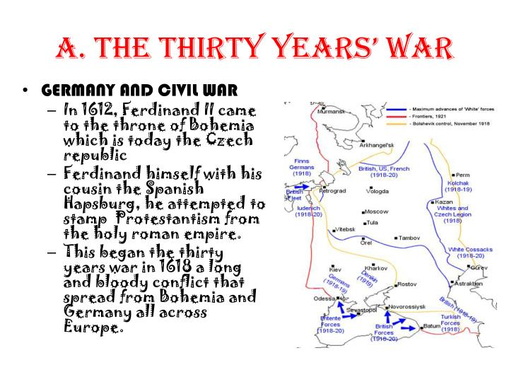 A. The Thirty Years' War