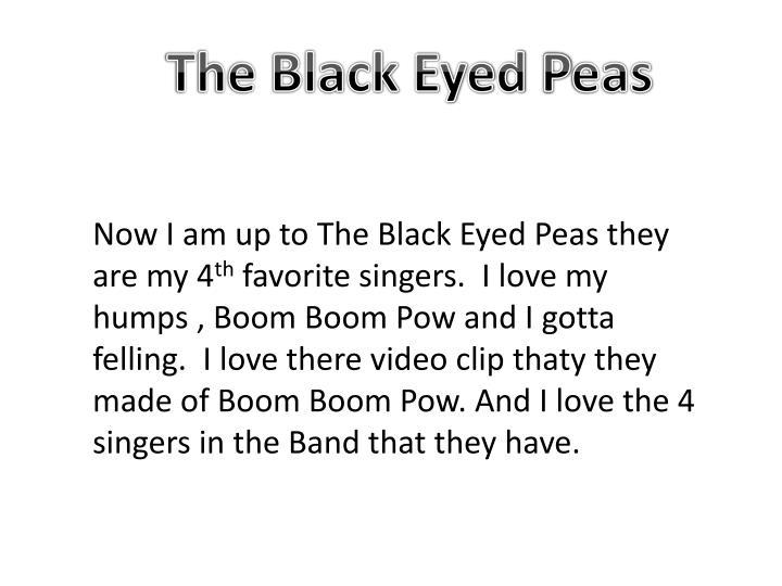 The Black Eyed