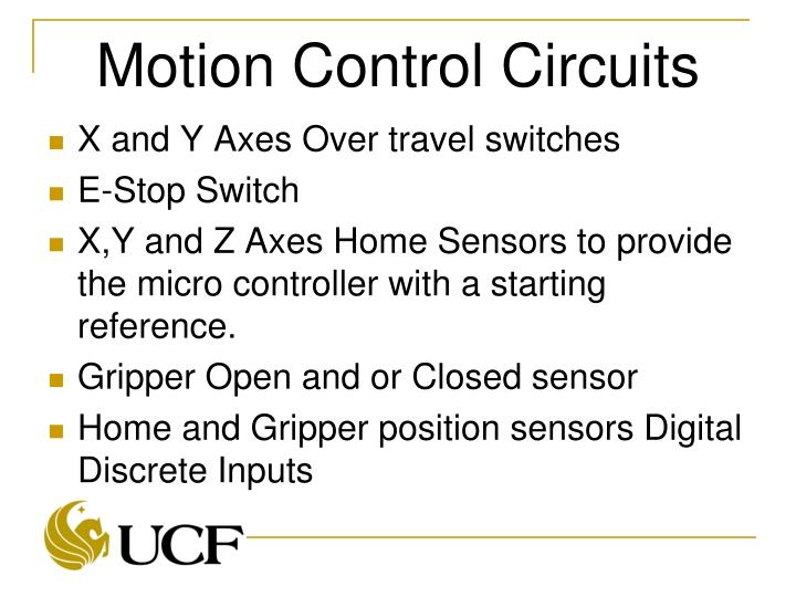 Motion Control Circuits