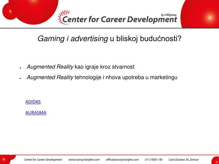 Gaming i advertising