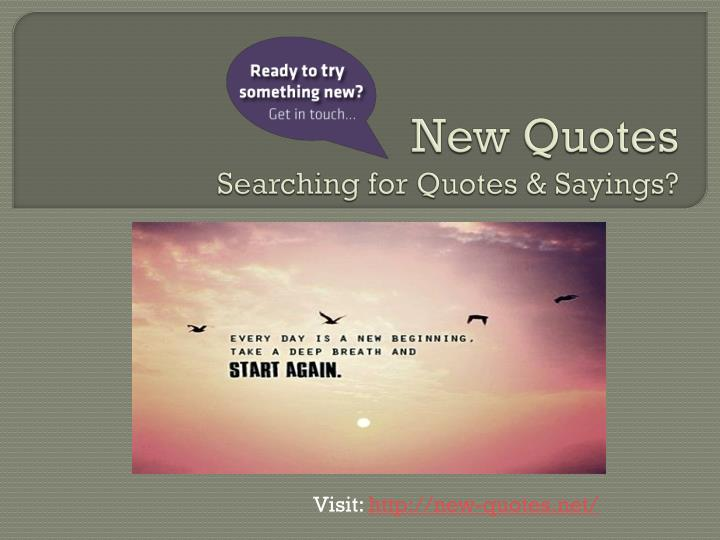 new quotes searching for quotes sayings n.