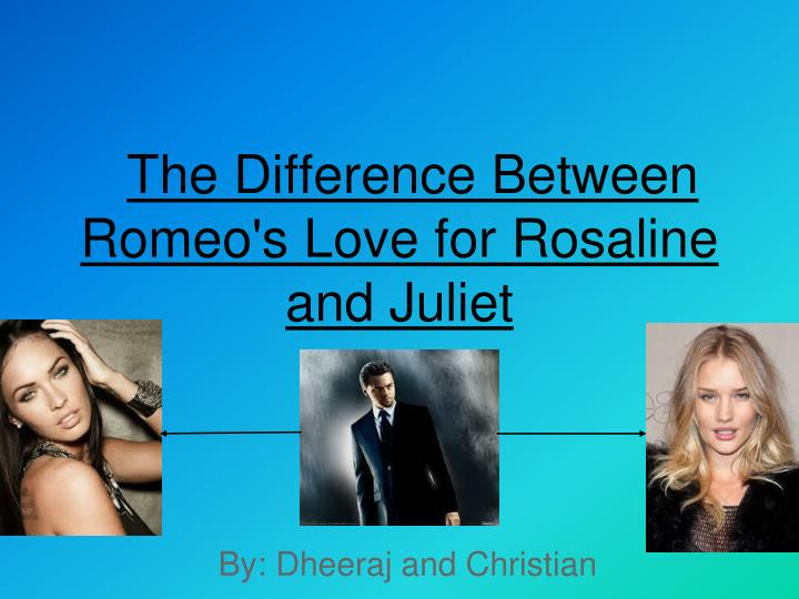 "compare relationships between romeo and juliet and ""romeo and juliet"" has been one of the most famous plays in the world this is a play by william shakespeare mainly about the tragic love between romeo and juliet from the two families montague and capulet."