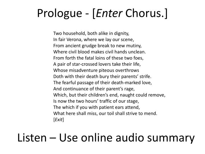 Prologue - [