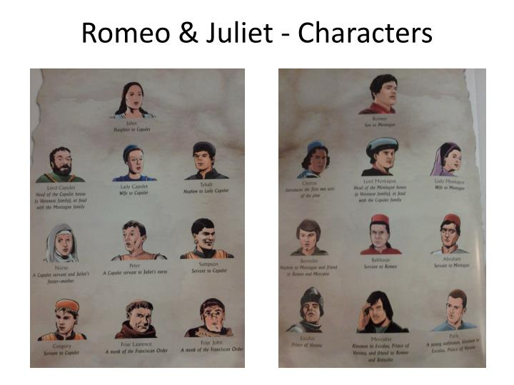 Romeo & Juliet - Characters