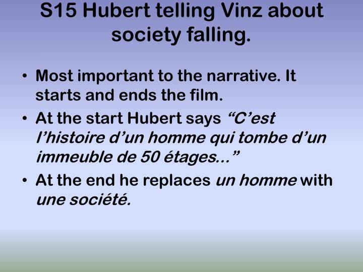 S15 Hubert telling