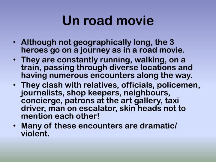Un road movie