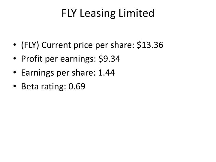 FLY Leasing Limited