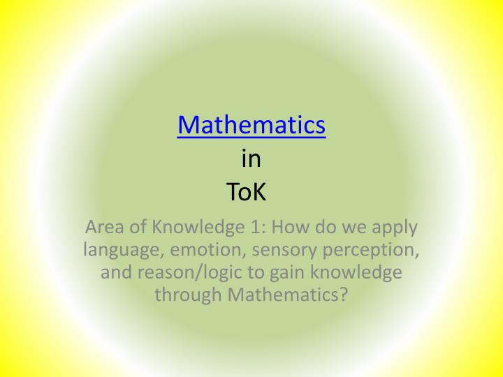 ib tok knowledge is power Internal assessments & written tasks tok ib theory of knowledge (tok): essay example without application in the world, the value of knowledge is greatly diminished consider this claim with respect to two areas of knowledge.