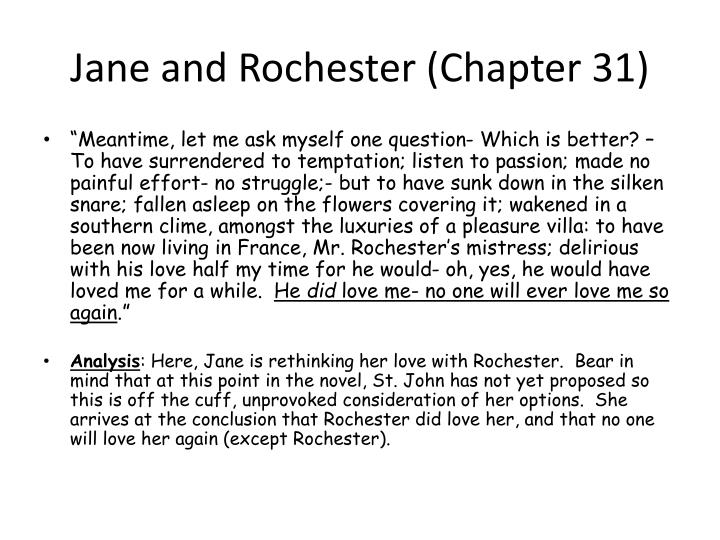 jane and rochester relationship View essay - jane and rochester analysis essay from english british li at tabiona high jane and rochesters relationships jane and rochester have a complex relationship.