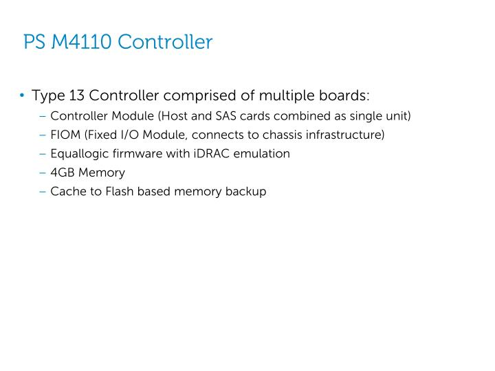 PS M4110 Controller