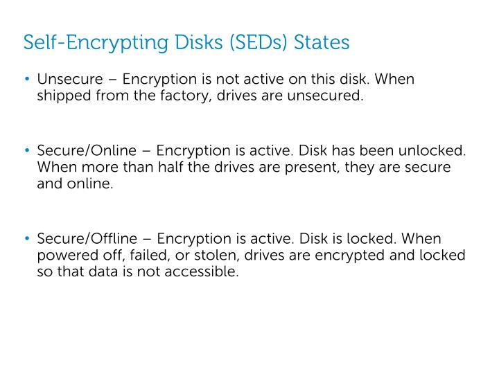 Self-Encrypting