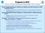 progress in 2010 ozone smoke operational nationwide dust testing