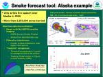 smoke forecast tool alaska example