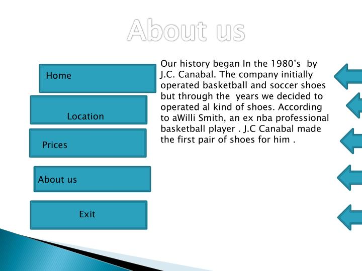 Our history began In the 1980's  by J.C.