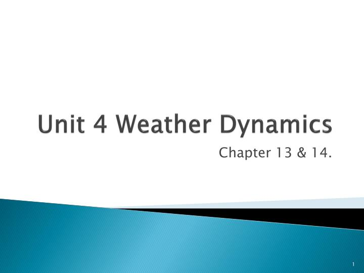 unit 4 weather dynamics n.