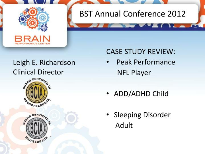 bst annual conference 2012 n.