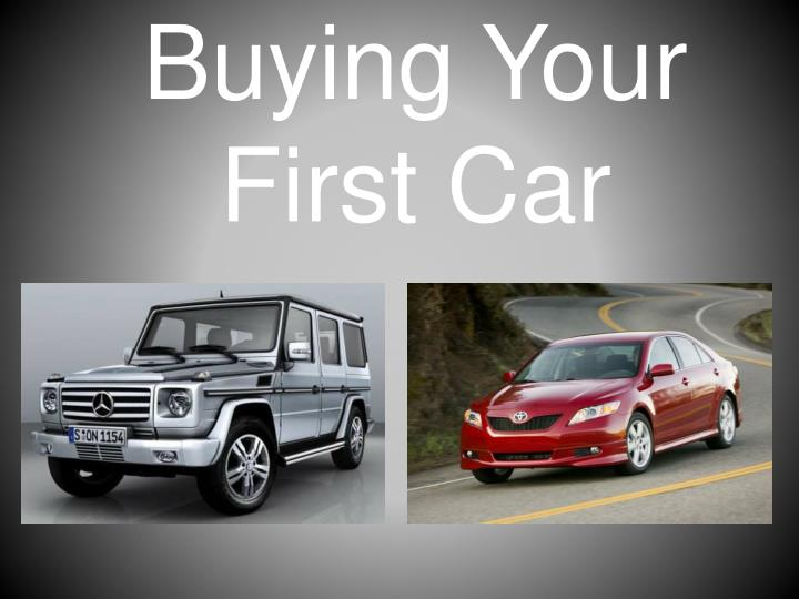 buying your first car n.