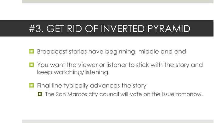 #3. GET RID OF INVERTED PYRAMID