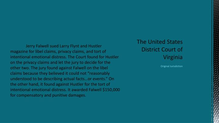 The united states district court of virginia