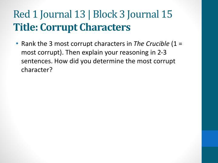 crucible essay outline