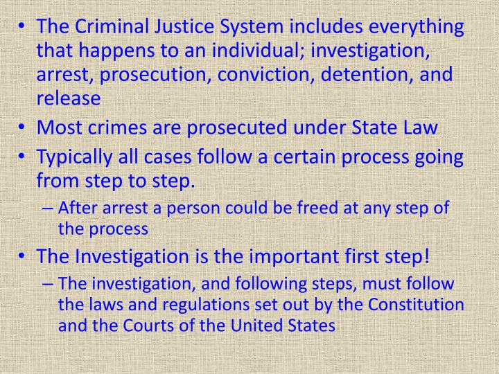 is the criminal justice system bias Confirmation bias led the various actors in the criminal justice system the criminal justice system should be designed and implemented to maximize the.