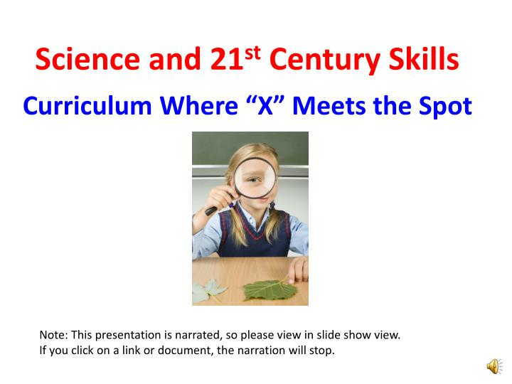 science and 21 st century skills n.