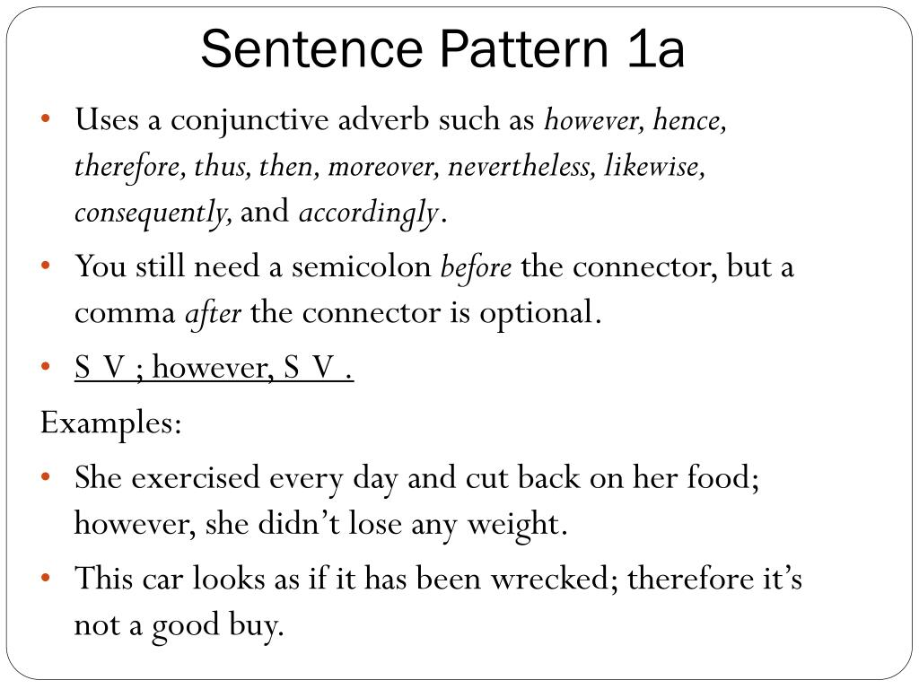 Have been sentence examples