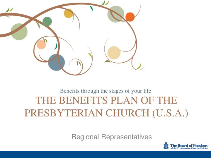 the benefits plan of the presbyterian church u s a n.