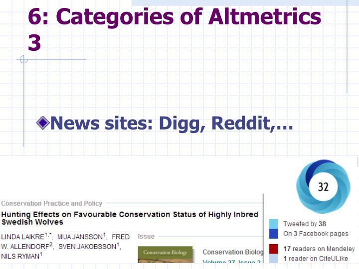 6: Categories