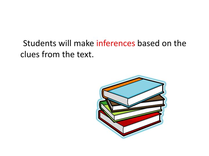 Students will make