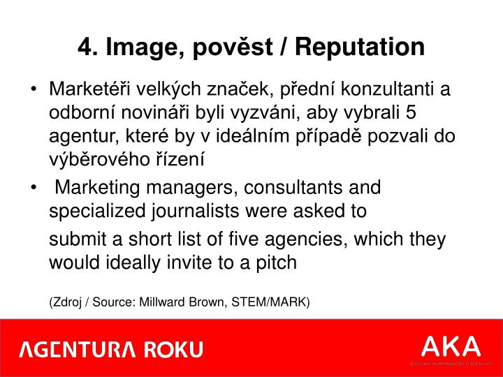 4. Image, pověst /