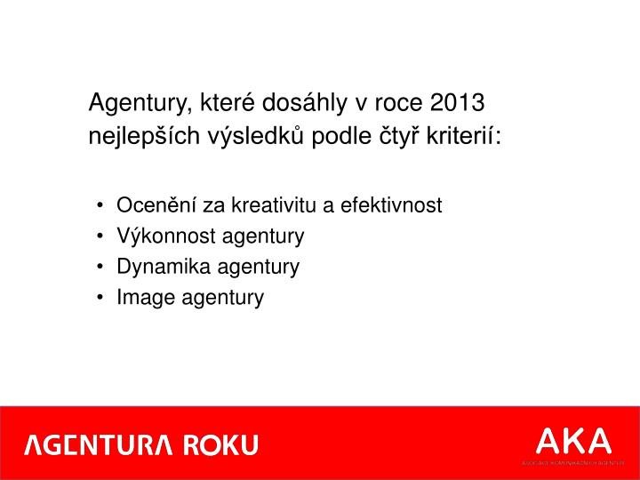 Agentury,