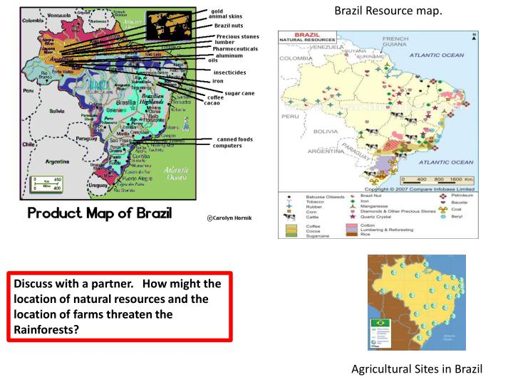 PPT About How Many People Per Sq Mile Live In Belem What Kind - Natural resources of brazil