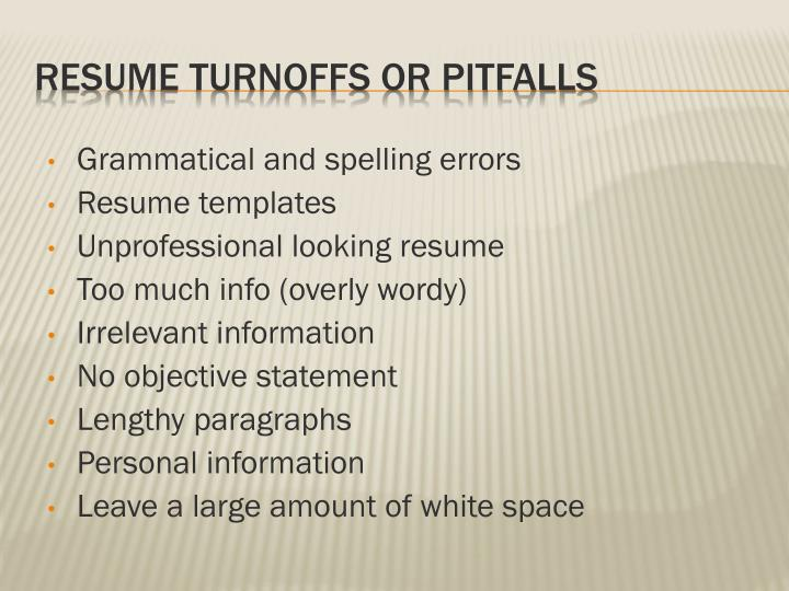 Grammatical and spelling errors