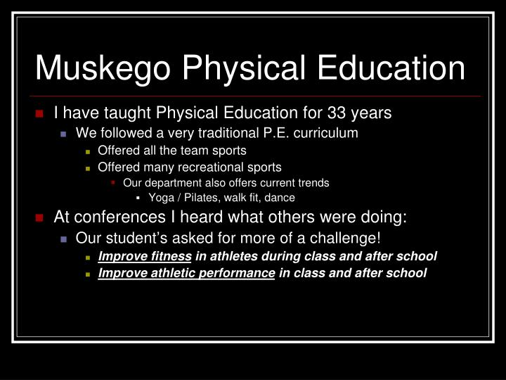 Muskego Physical Education