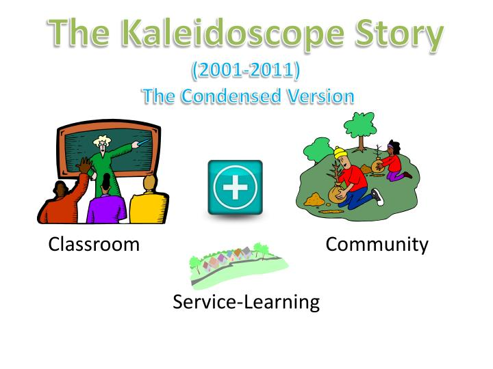The kaleidoscope story 2001 2011 the condensed version