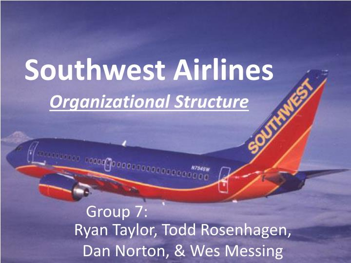 southwest airlines organizational behavior An analysis of the factors of motivation, culture, leadership and an analysis of southwest airlines 3 organizational of organizational behavior.