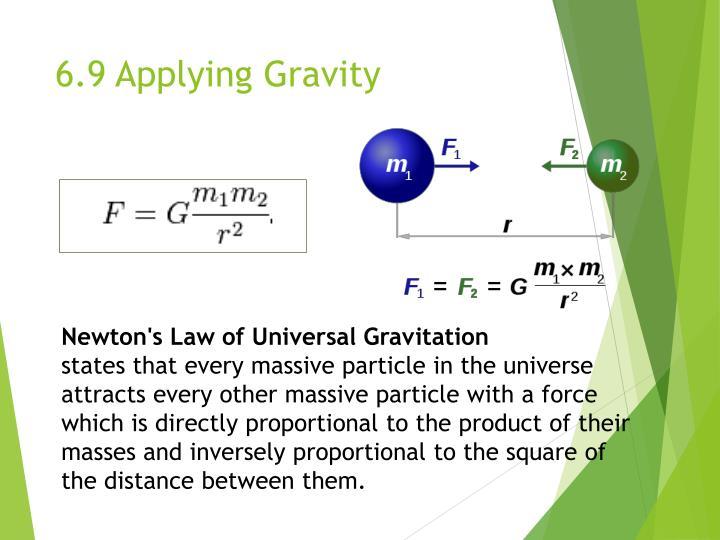 6.9 Applying Gravity
