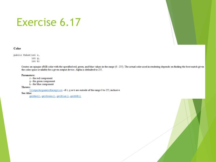 Exercise 6.17